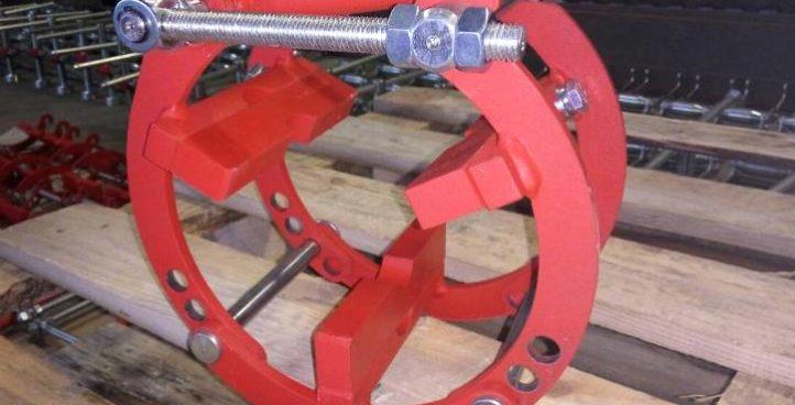 External eccentric clamps