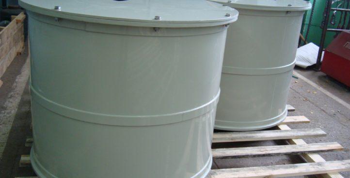 Круглые емкости, резервуары и баки
