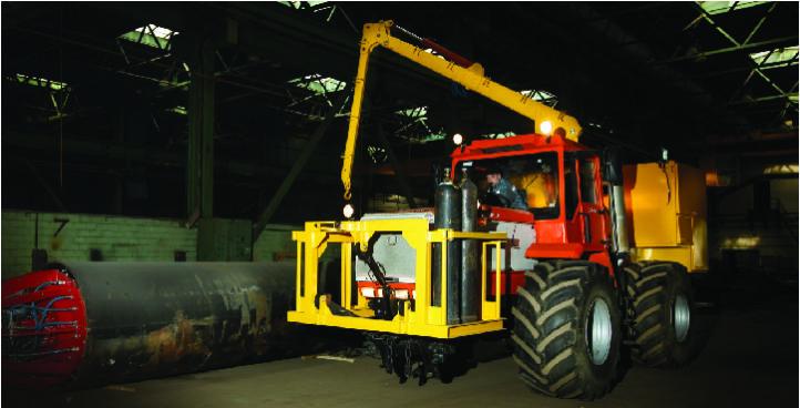 Welding tractor
