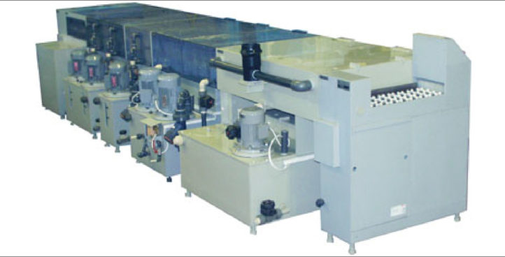 Photoresist removal line